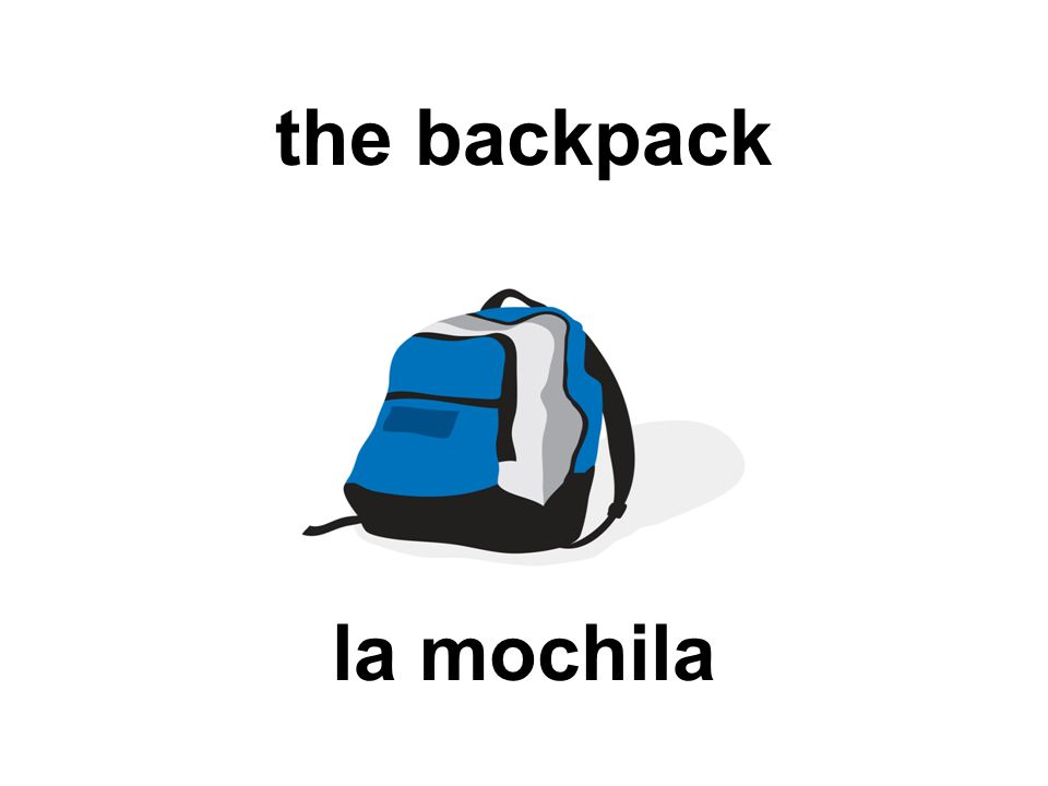 the backpack la mochila