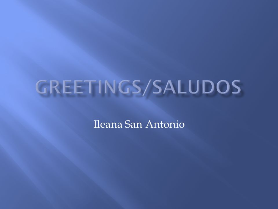 Ileana San Antonio