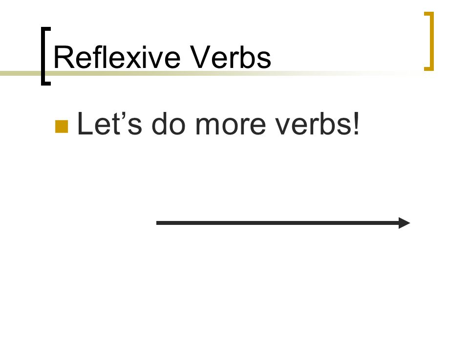 Reflexive Pronouns Before the verb: Me voy a lavar el pelo.