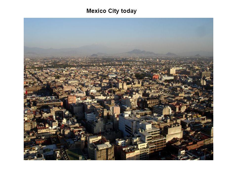 Mexico City today
