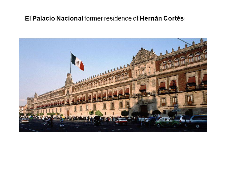 El Palacio Nacional former residence of Hernán Cortés