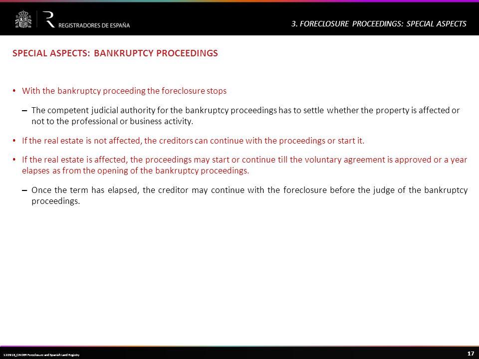 Haga clic para modificar el estilo de título del patrón 17 120918_CINDER Foreclosure and Spanish Land Registry 3.