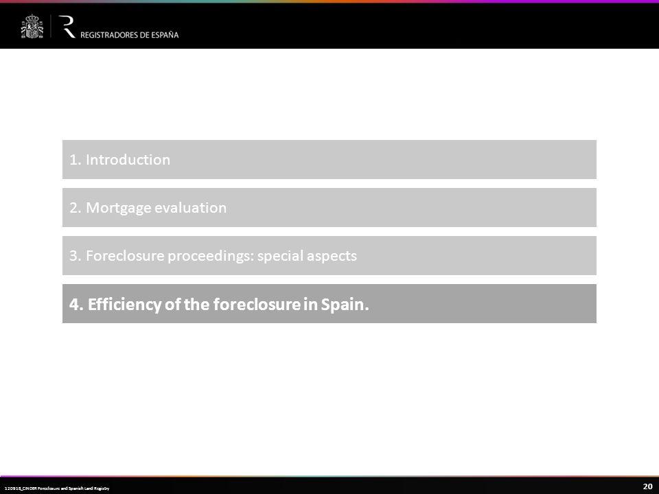 Haga clic para modificar el estilo de título del patrón 20 120918_CINDER Foreclosure and Spanish Land Registry 1.