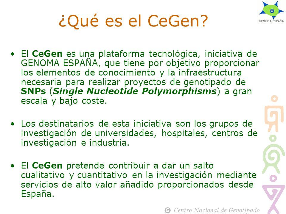 ¿Qué es el CeGen.