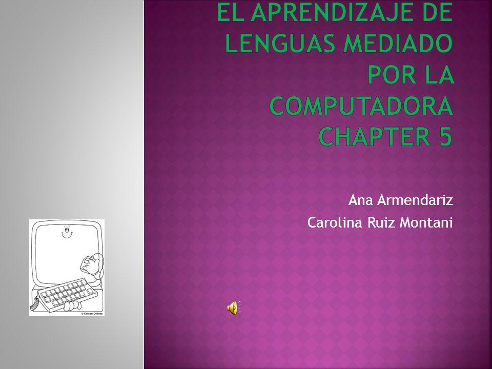 Ana Armendariz Carolina Ruiz Montani