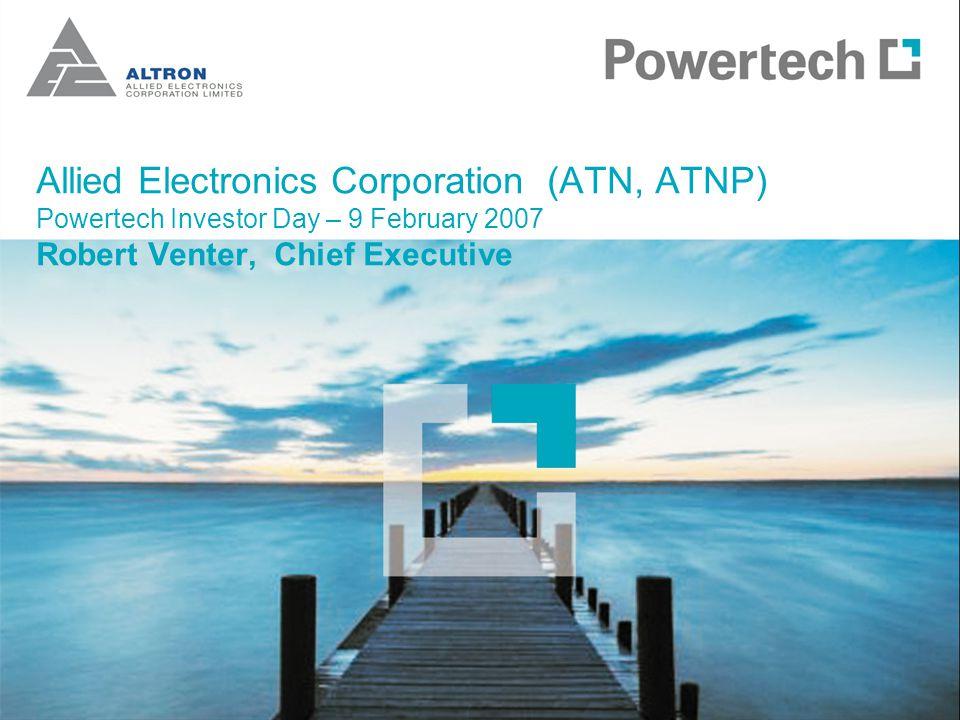 Powertech R millionsix month to Aug 31Aug 06Aug 05% change Revenue3 0462 30532 Operating profit272127114 Operating margin8.9%5.5% Headline earnings17072140 Cash33818781