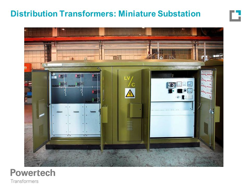 Distribution Transformers: Miniature Substation