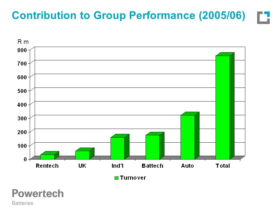 Contribution to Group Performance (2005/06) R m
