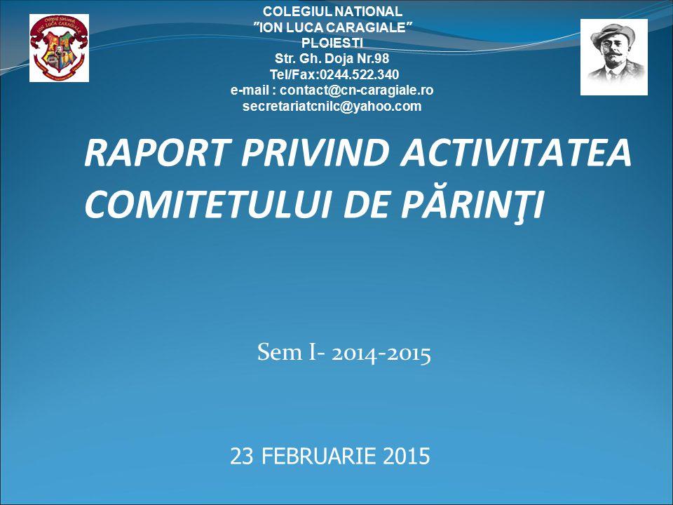 I.SCURT ISTORIC- INFIINTARE ASOCIATIE PARINTI- AP 150 CNILC II.