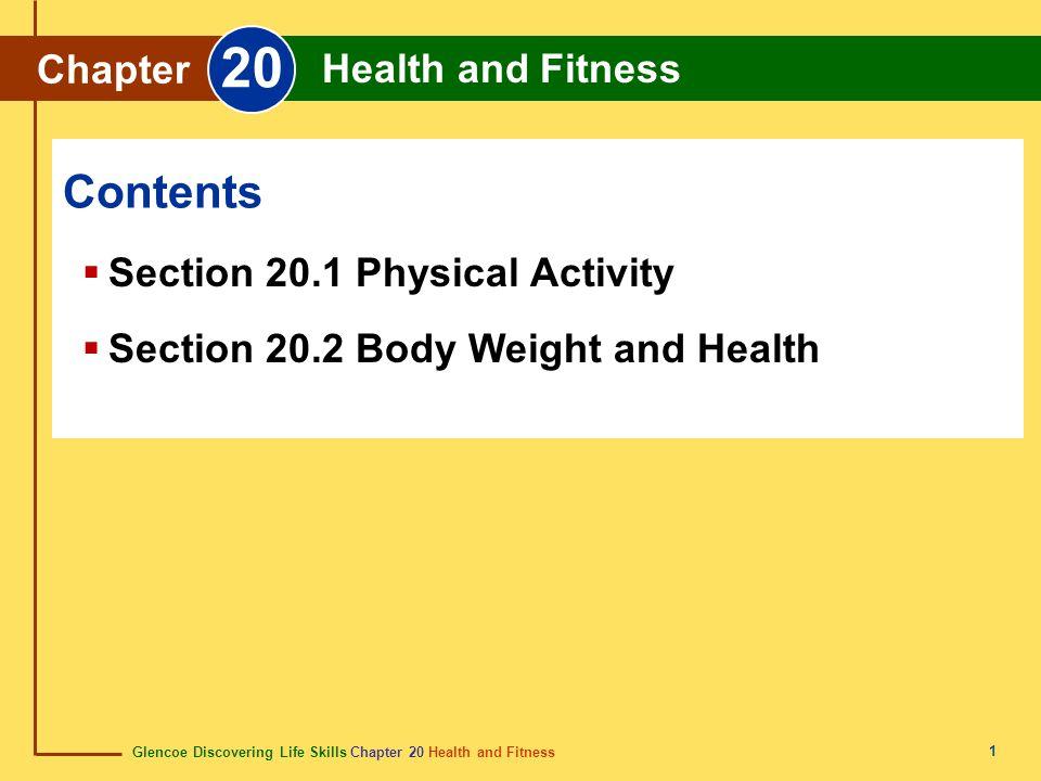 Glencoe Discovering Life Skills Chapter 20 Health and Fitness Chapter 20 Health and Fitness 32 End of Chapter 20 Health and Fitness