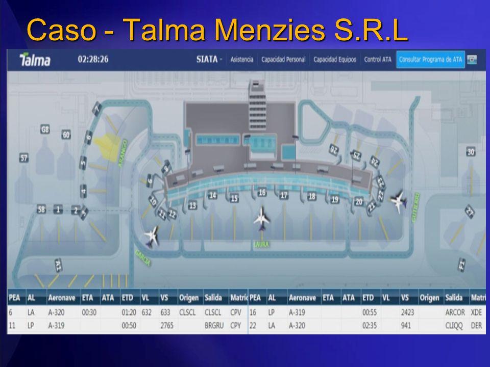 Caso - Talma Menzies S.R.L