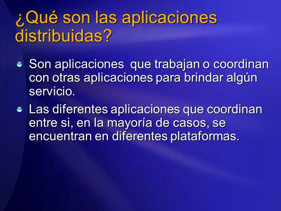 ¿Qué son las aplicaciones distribuidas.