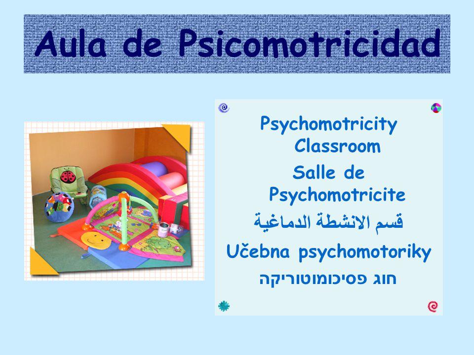 Aula de Psicomotricidad Psychomotricity Classroom Salle de Psychomotricite قسم الانشطة الدماغية Učebna psychomotoriky חוג פסיכומוטוריקה
