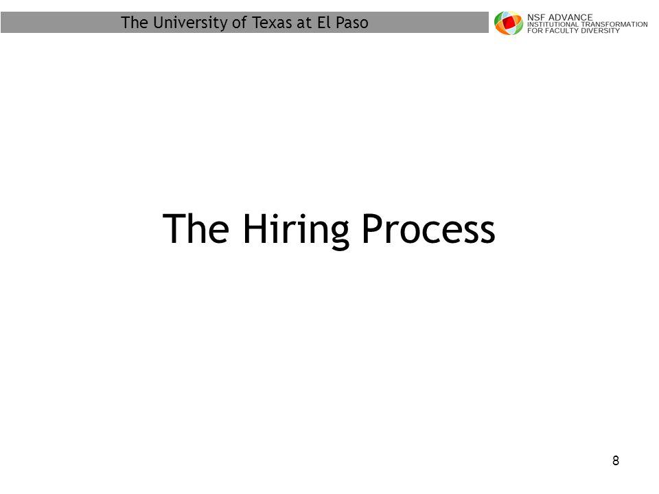 The University of Texas at El Paso 19