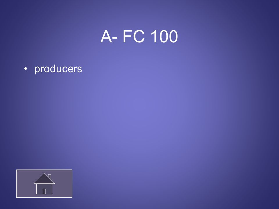 A- FC 100 producers