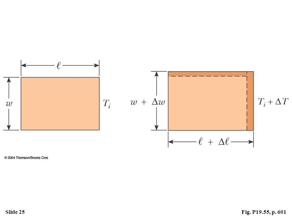 Slide 25Fig. P19.55, p. 601