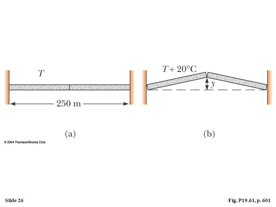 Slide 26Fig. P19.61, p. 601