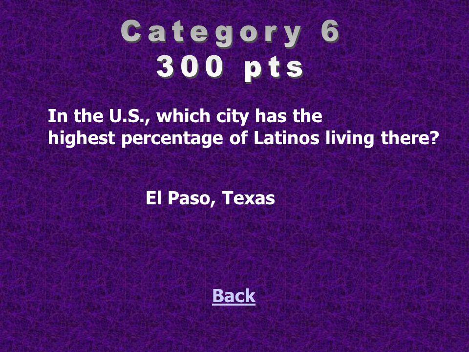 Name 3 Mexican dishes. Back Tacos, enchiladas, arroz, frijoles, Tortas, mole, etc….