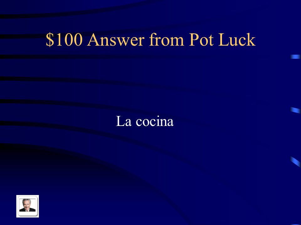 $100 Question from Pot Luck Kitchen