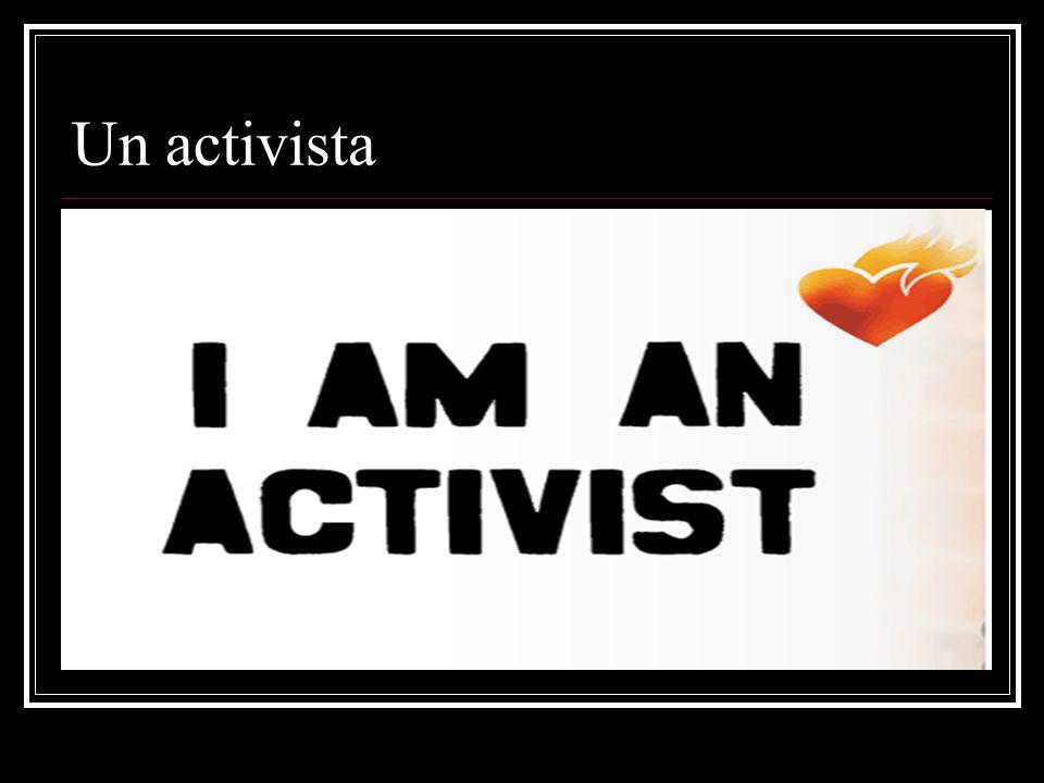 Un activista