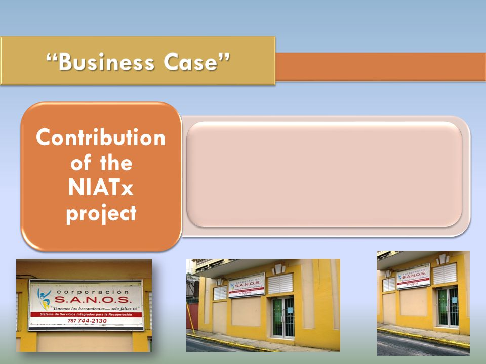Improving program access increases client participation. Increase compliance and income. Contribution of the NIATx project