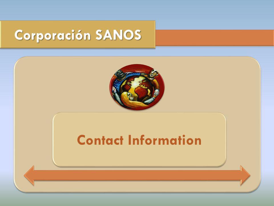 Sra. Elba Vázquez Cardín, MPH e-mail: evazquez@sanospr.org evazquez@sanospr.org Carlos V.