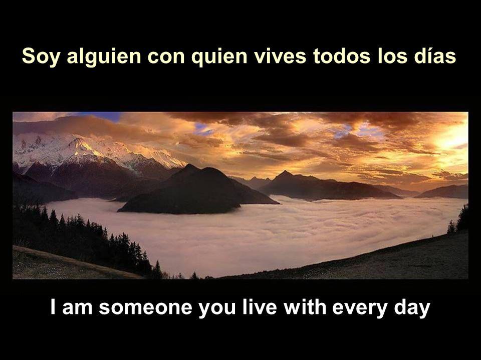Vita Noble Powerpoints Soy alguien con quien convives a diario Soy alguien con quien vives todos los días I am someone you live with every day