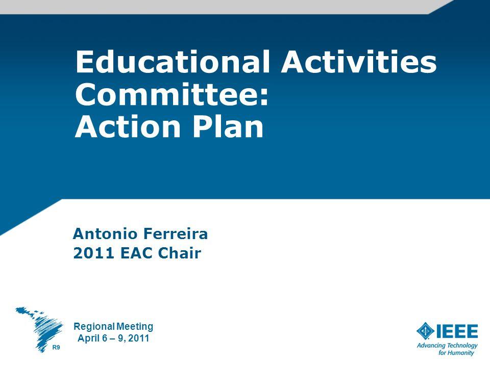 Diversity Cultural Economic Development Education needs 2 Regional Educational Activities Committee - Action Plan April 7, 2011