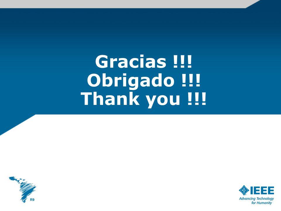 Gracias !!! Obrigado !!! Thank you !!!