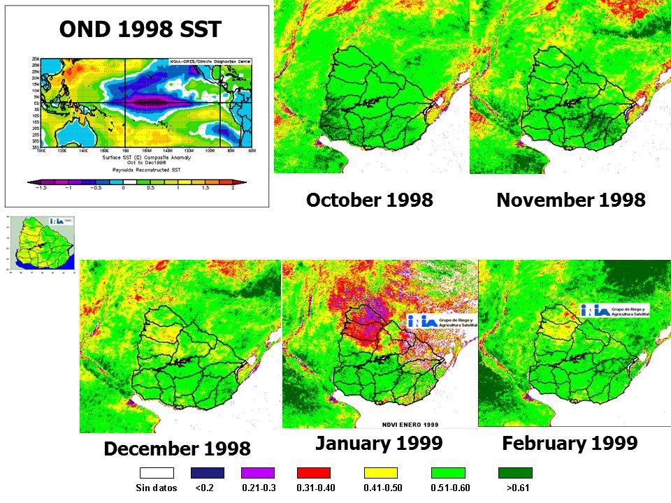 December 1998 January 1999February 1999 November 1998October 1998 OND 1998 SST