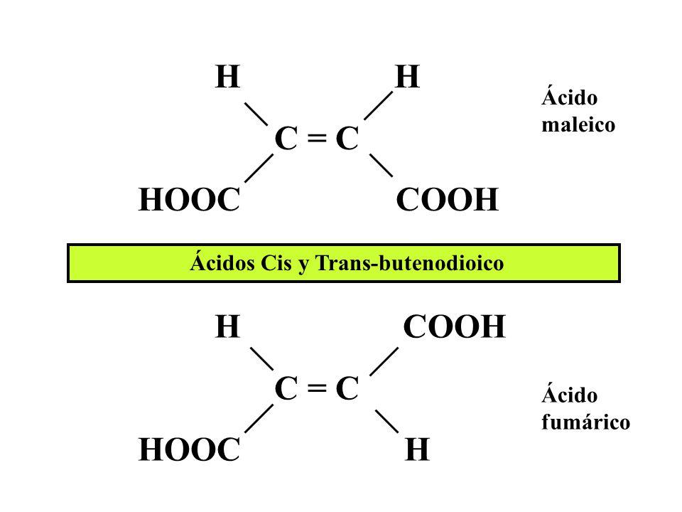 Ácido metanoico Ácido etanoico Ácido acético Ácido etanodioico Ácido oxálico HCOOH CH 3 – COOH HOOC – COOH Ácido butanodioico (Ácido succínico) HOOC – CH 2 – CH 2 – COOH Ácido pentanodioico (Ácido glutárico) HOOC – CH 2 – CH 2 – CH 2 – COOH