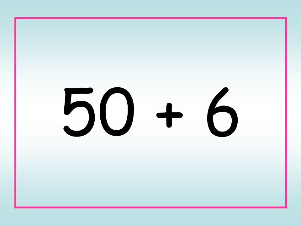 50 + 6