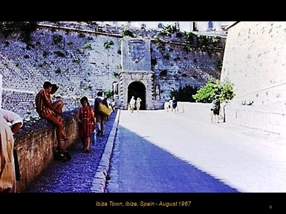 Ibiza Town, Ibiza, Spain - August 1967 8