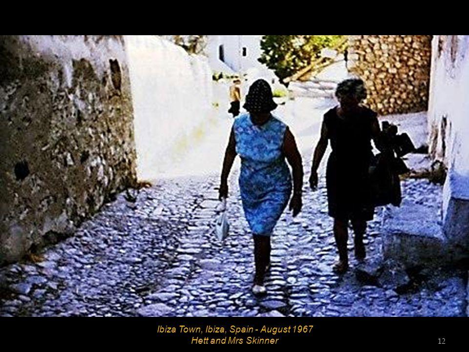 Ibiza Town, Ibiza, Spain - August 1967 11