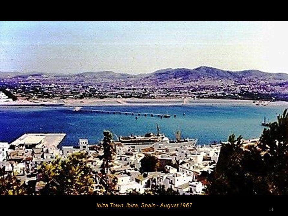 Ibiza Town, Ibiza, Spain - August 1967 13