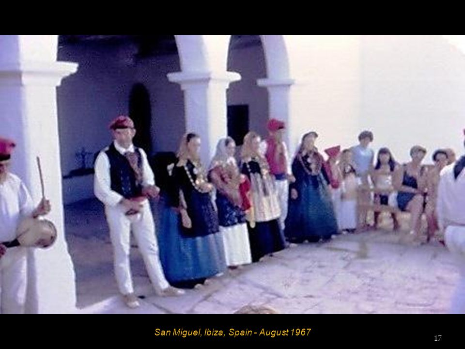San Miguel, Ibiza, Spain - August 1967 Hett and Mrs Skinner 16