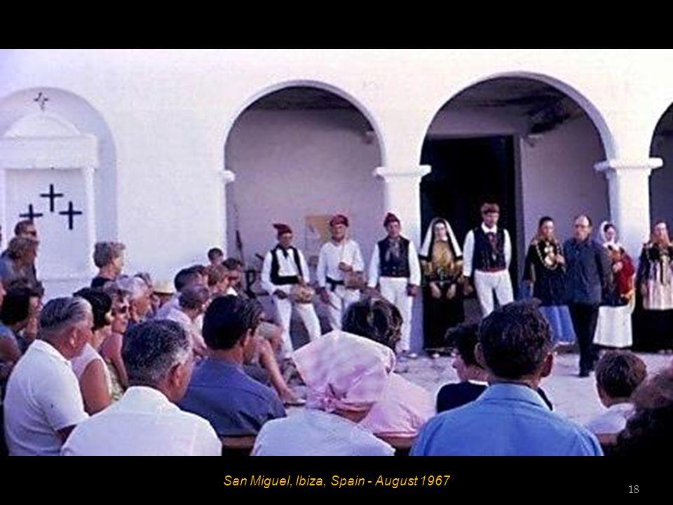 San Miguel, Ibiza, Spain - August 1967 17