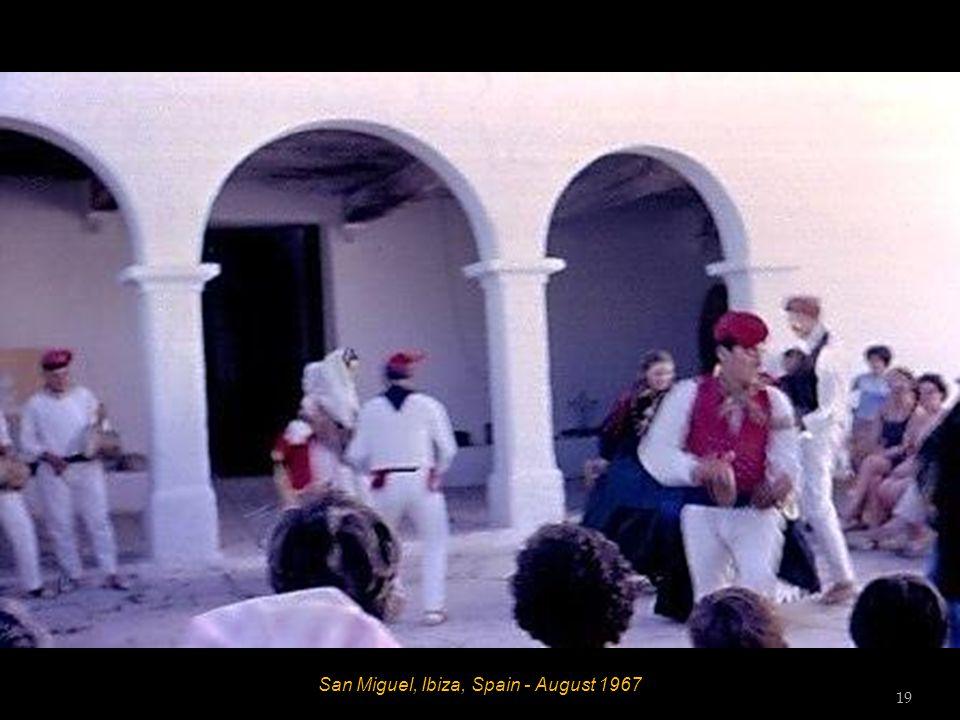 San Miguel, Ibiza, Spain - August 1967 18