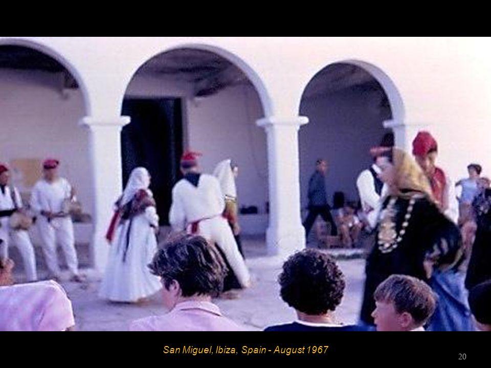 San Miguel, Ibiza, Spain - August 1967 19