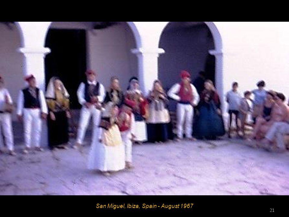 San Miguel, Ibiza, Spain - August 1967 20