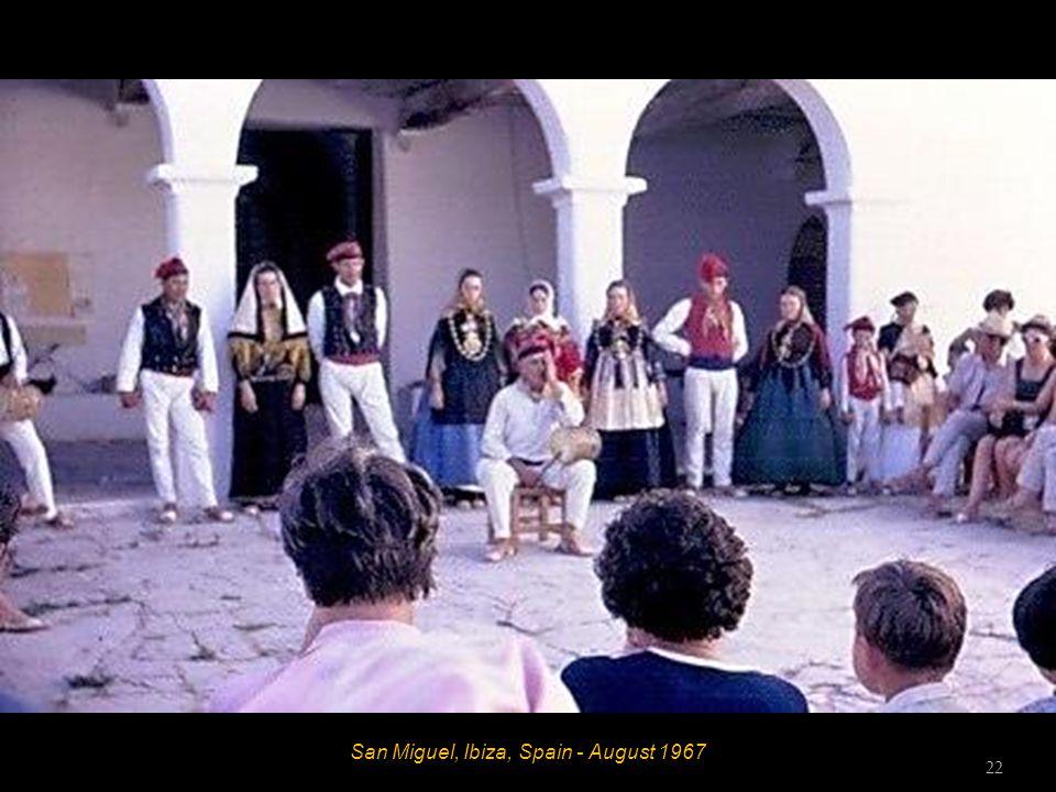 San Miguel, Ibiza, Spain - August 1967 21