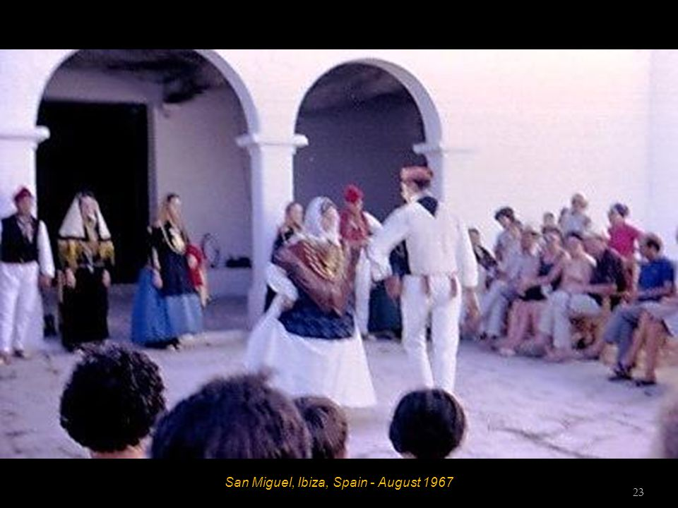 San Miguel, Ibiza, Spain - August 1967 22