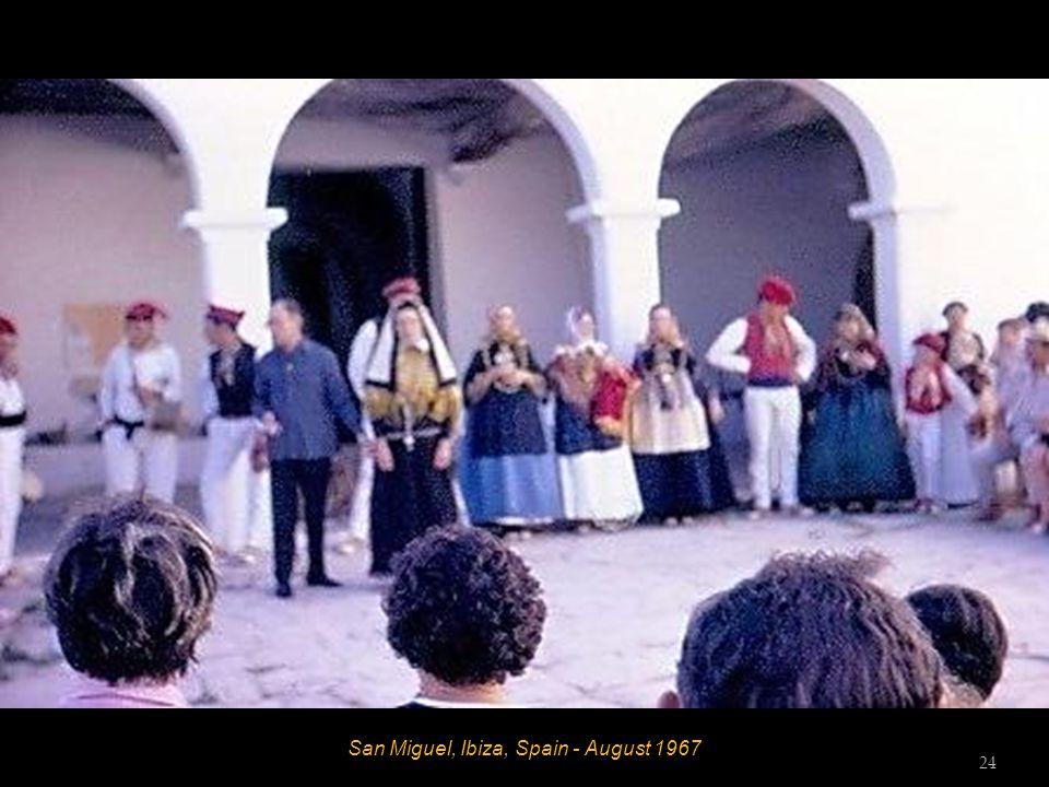 San Miguel, Ibiza, Spain - August 1967 23
