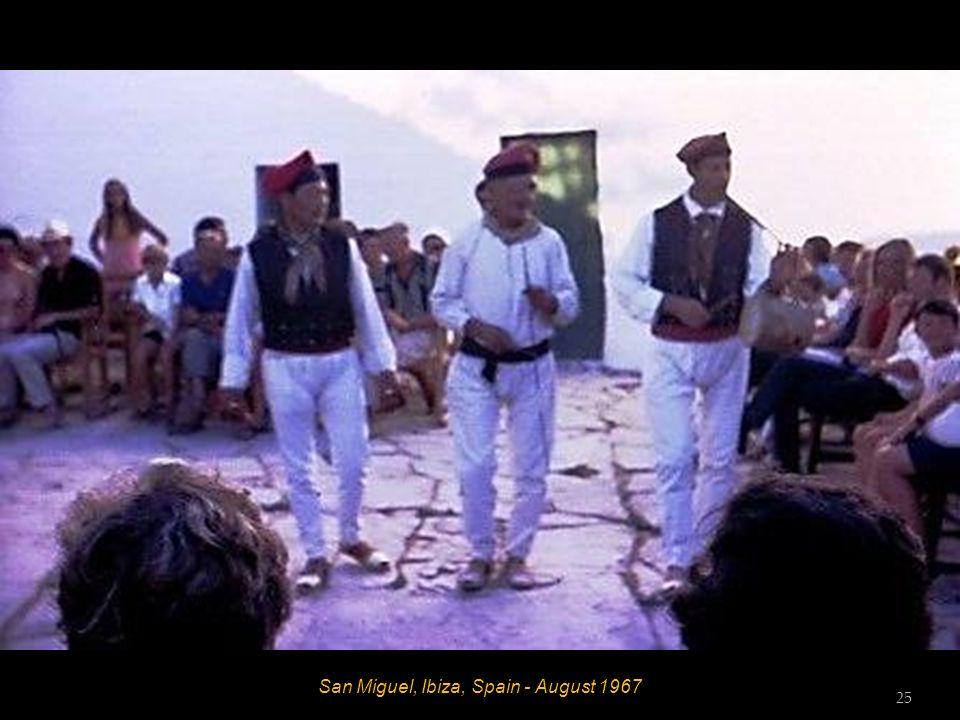 San Miguel, Ibiza, Spain - August 1967 24