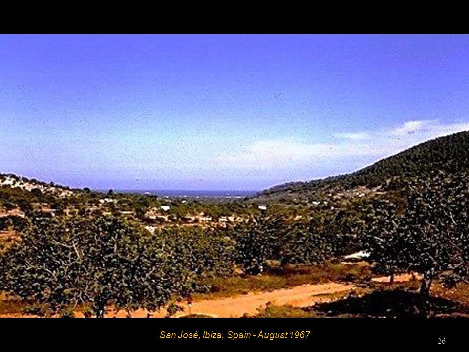 San Miguel, Ibiza, Spain - August 1967 25