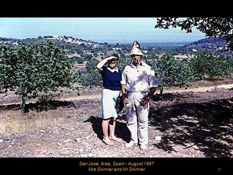 San José, Ibiza, Spain - August 1967 26