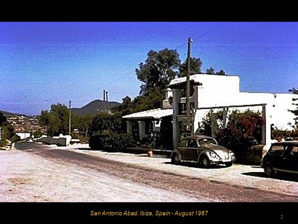 Es Caná, Ibiza, Spain - August 1967 Bob 1