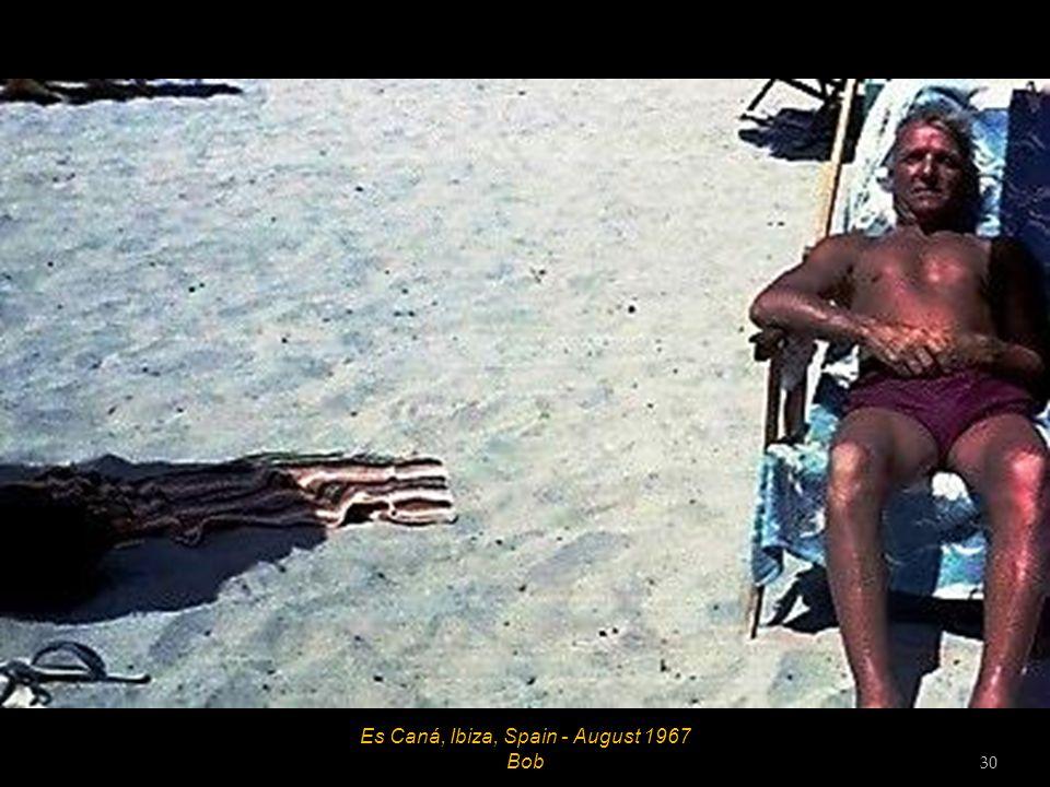 Ibiza Town, Ibiza, Spain - August 1967 29