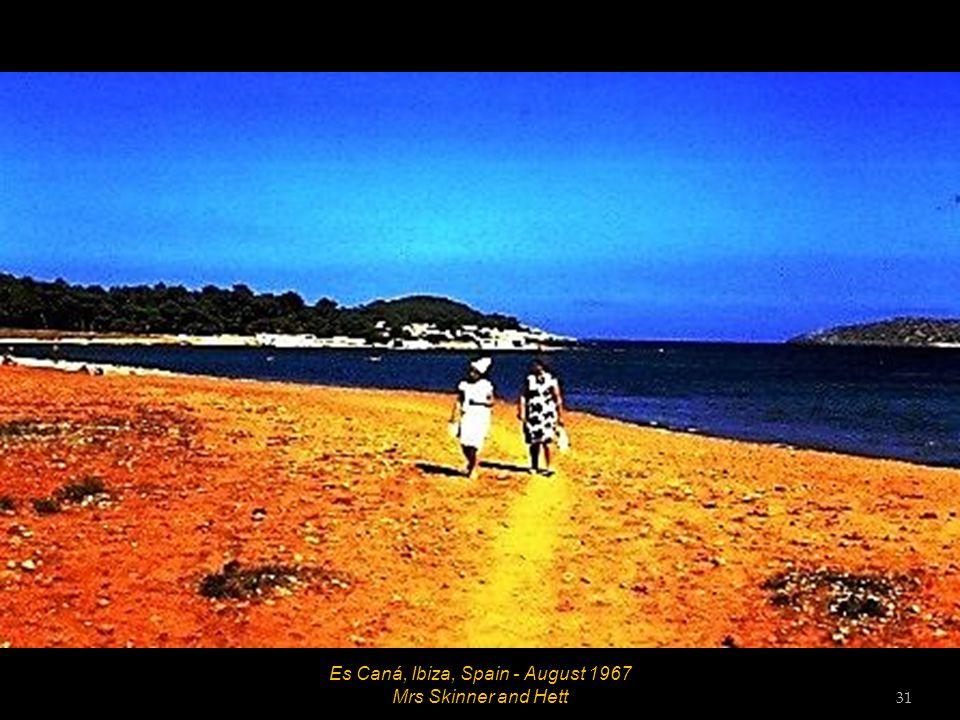 Es Caná, Ibiza, Spain - August 1967 Bob 30