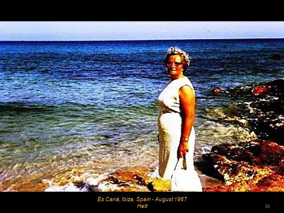 Es Caná, Ibiza, Spain - August 1967 32